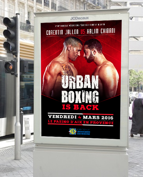 urban boxing affiche marseille