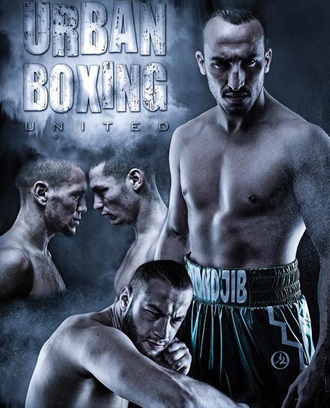 événementiel affiche urban boxing