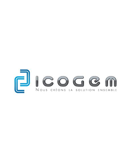 création logo icogem